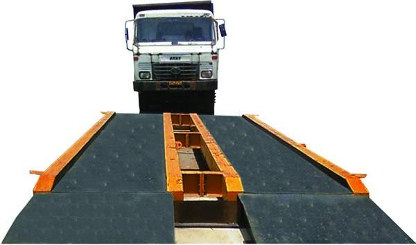 truck approaching a weighbrige