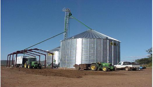 A complete silo. Grain Silo advantages, Why Grain storage, Why Silos?